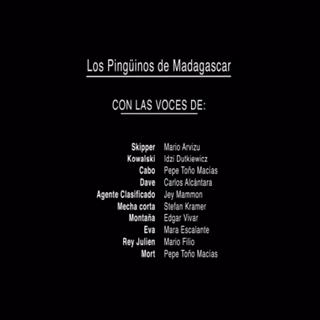 Creditos del DVD 1