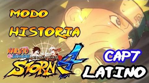 Combate Contra Madara Naruto Shippuden- Ultimate Ninja Storm 4 Modo Historia Latino Español Guia