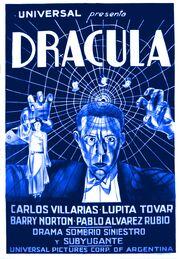 Dracula (1931 Spanish-language film poster)
