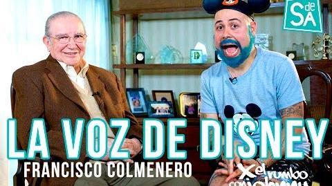 Francisco Colmenero la voz de Disney Johnny Carmona el rey del doblaje en México