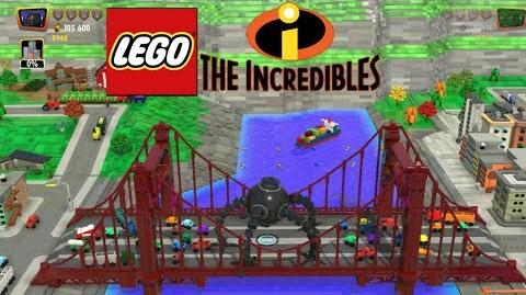 """LEGO LOS INCREÍBLES - GAMMEPLAY ESPAÑOL (LATINO) - NIVEL EXTRA """"ATAQUE DEL OMNIDROIDE"""""""