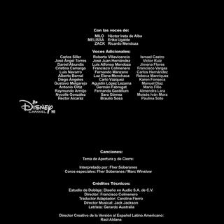 Créditos de la primera temporada (episodio 15).