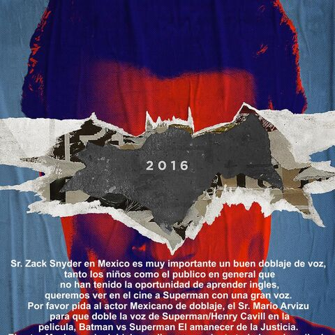 Carta al director Zack Snyder