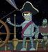 Bender pirata en la bestia con billones de brazos