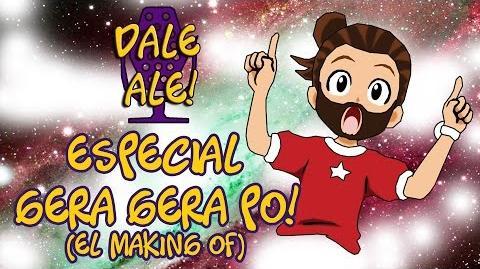 Dale Ale Especial - Gera Gera Po! El making of...