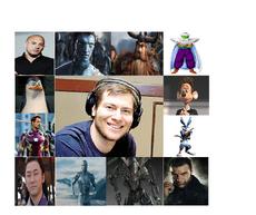 Idzi Dutkiewicz Personajes