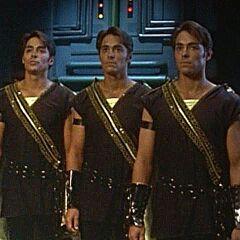 Trey de Triforia Señor de la Sabiduría / Gold Power Ranger en <a href=