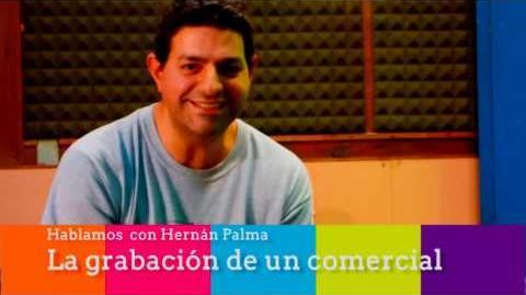 Hernán Palma Charla sobre Locución Comercial - La Grabación