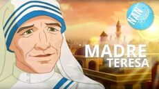 MADRE TERESA pelicula completa en español dibujos animados para niños Vida de la Madre Teresa