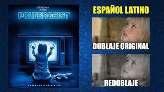 Poltergeist- Juegos Diabólicos -1982- Doblaje Original y Redoblaje - Español Latino - Comparación