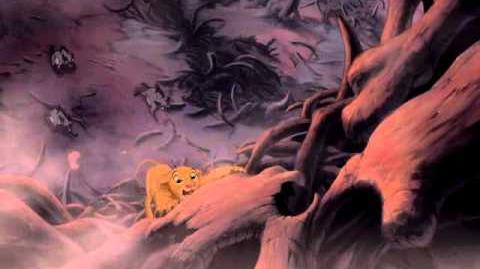 """Scar (3 14) español spanish """"El rey león""""."""