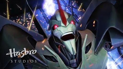 Transformers Prime Cazadores de Bestias - Mordida de Starscream