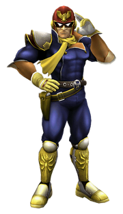 7.Captain Falcon