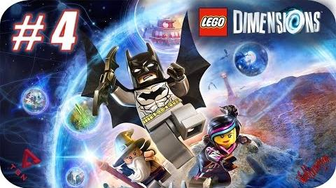 LEGO Dimensions - Gameplay Español - Capitulo 4 - 1080pHD