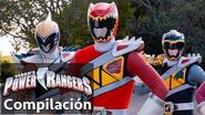 Power Rangers en Español Rangers Dino Super Charge juntos!-0