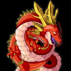 Shen Long de las esferas del dragón de estrellas negras en <a href=