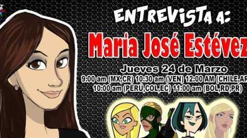 Entrevista a María José Estévez por Súper Creepy Total y Dubbing Zone