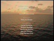 Créditos de doblaje al castellano rioplatense de El oceano Atlantico