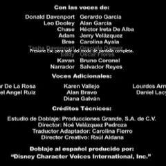 Créditos de Doblaje (1ra Temproada) (3)
