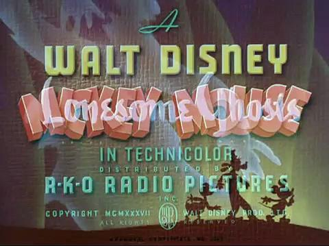 Mickey donald y goofy fantasmas solitarios