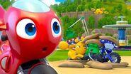 Ricky Zoom Español Latino El Entrenamiento De Rescate ¡Ricky Zoom, míralo en Discovery Kids!