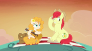 Bright Mac flattered by Pear Butter's song S7E13