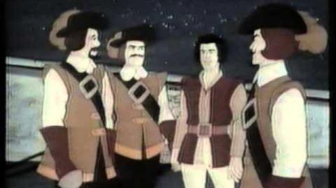 Los 3 mosqueteros Hanna Barbera (Audio Latino)