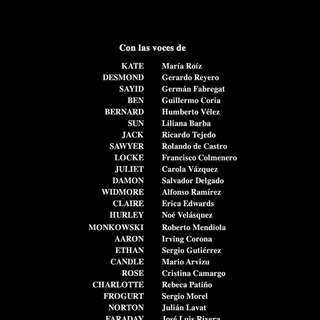 Créditos de doblaje de la quinta temporada