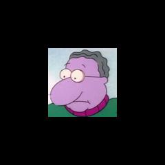 Sr. Gil en la versión de nickelodeon de <a href=