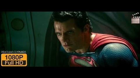 Man Of Steel escena pelea Smallville parte 2 Español Latino Full HD
