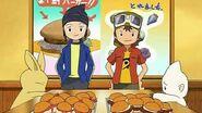 Bokomon y Neemon prueban las hamburguesas de los chicos - Latino