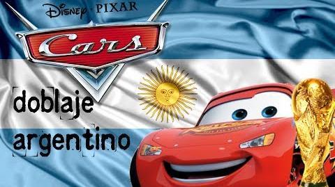 Cars - Doblaje Argentino (2006)