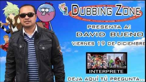 Entrevista a David Bueno en Dubbing Zone