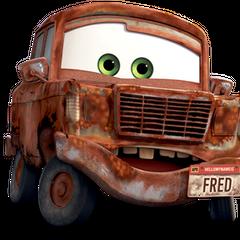Fred en el doblaje argentino de <a href=