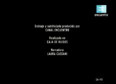 Créditos de doblaje de La verdadera historia de la ciencia ficción (TV) (CE)