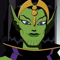 La Reina Skrull Veranke también en <a href=