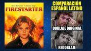 La Niña de Fuego -1984- Comparación del Doblaje Original y Redoblaje -Español Latino-
