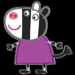 Zoe Zebra en <a href=