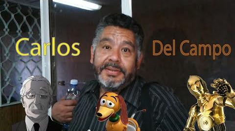 Carlos Del Campo - la Voz de Watari (death note) c3po (star wars) slinky (Toy Story 4)