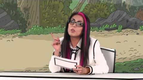 Cartoon Network Ping Pong Animado con Eva de Metal Episodio 4 Clarence 2015
