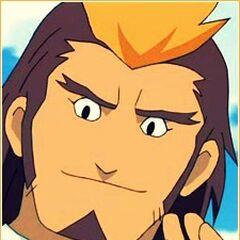 Raiden Hijikata (1ª voz) en <a href=