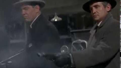 La masacre de chicago de (1929) escena final