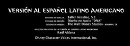 Moana- Un mar de aventuras Doblaje Latino Creditos 7