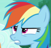 Rainbow Dash Changeling scornful S6E25