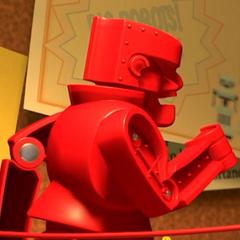 Rock 'Em Sock 'Em Robots en <a href=
