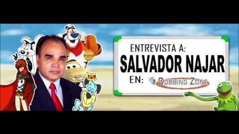 Entrevista a Salvador Najar en Dubbing Zone Parte 1