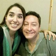Karla Veron y Beto Castillo. (07/06/16)