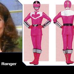 Jen Scotts (Pink Ranger) en Power Rangers Fuerza del Tiempo
