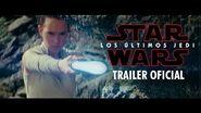 Star Wars Los Últimos Jedi - Segundo Trailer (Doblado) - Lucasfilm