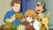 Takuya y sus amigos comen vegetales con distintos sabores - Latino